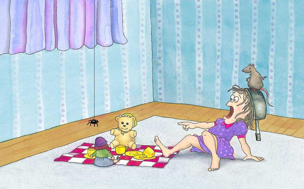 Spider un house